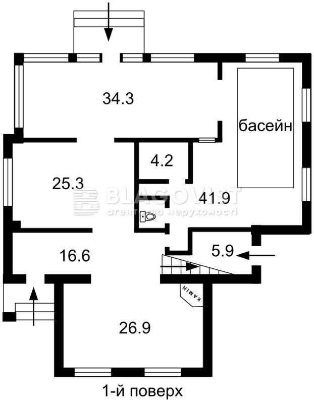 Дом M-14939, Садовая (Осокорки), Киев - Фото 2