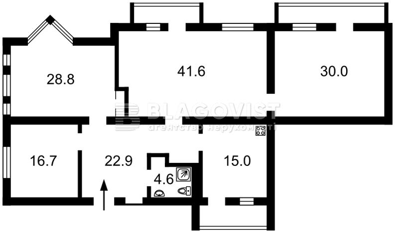 Квартира F-32828, Институтская, 16, Киев - Фото 6