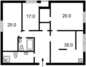 Квартира Кудряшова, 16, Киев, Z-1520601 - Фото2
