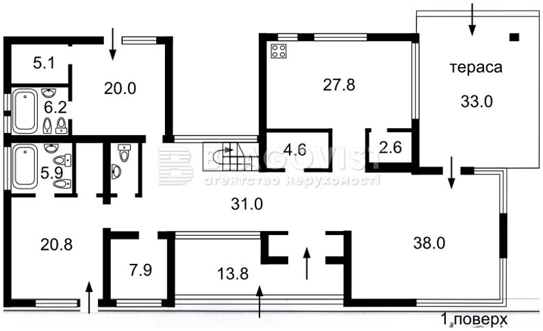Дом F-32826, Хотяновка - Фото 2