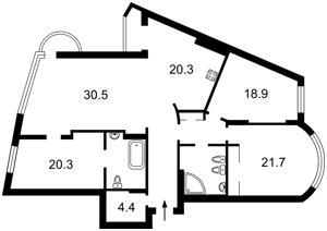 Квартира Старонаводницкая, 6б, Киев, A-102865 - Фото2
