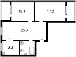Квартира Панаса Мирного, 11, Киев, F-32940 - Фото2
