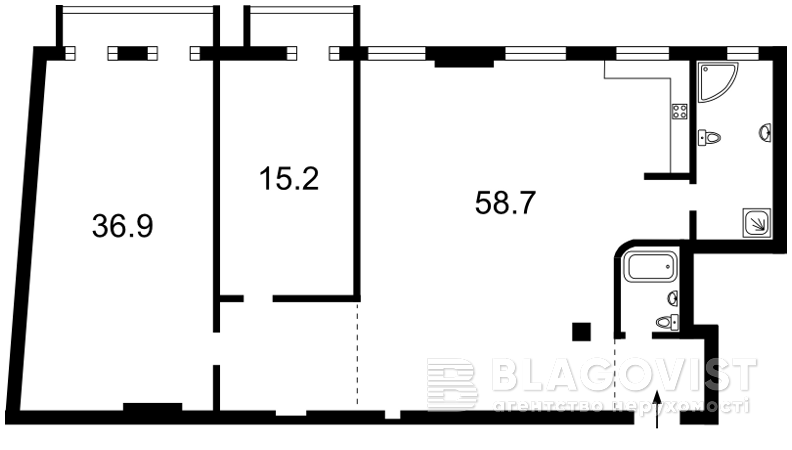 Квартира Z-569788, Рейтарская, 35а, Киев - Фото 4