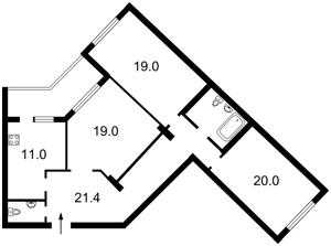 Квартира Лобановского просп. (Краснозвездный просп.), 4ж, Киев, X-12277 - Фото2