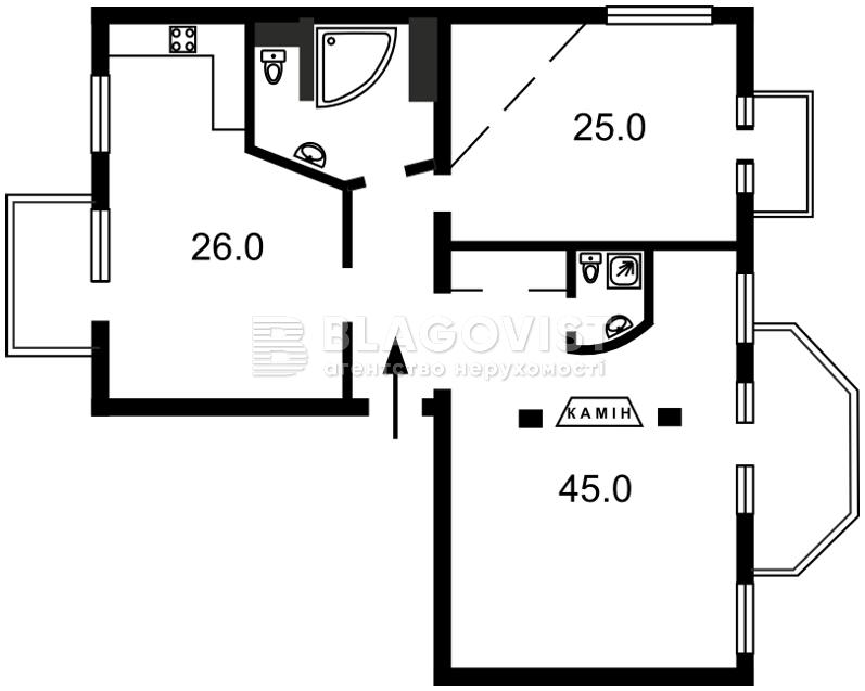 Квартира C-63114, Лютеранская, 21, Киев - Фото 2