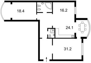 Квартира Героев Сталинграда просп., 8 корпус 5, Киев, X-11494 - Фото2