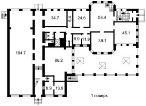 Дом, Y-1434, Липская, Киев - Фото 6