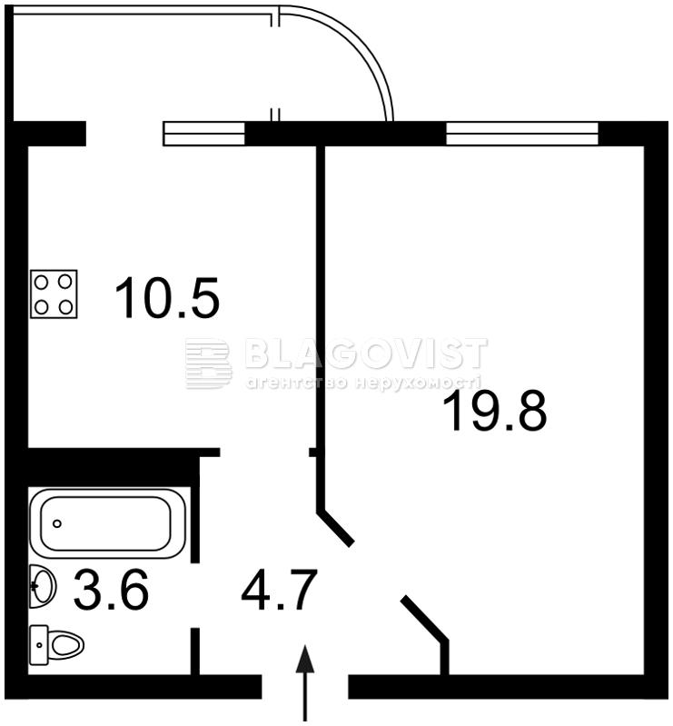 Квартира F-33187, Бориспольская, 6, Киев - Фото 5
