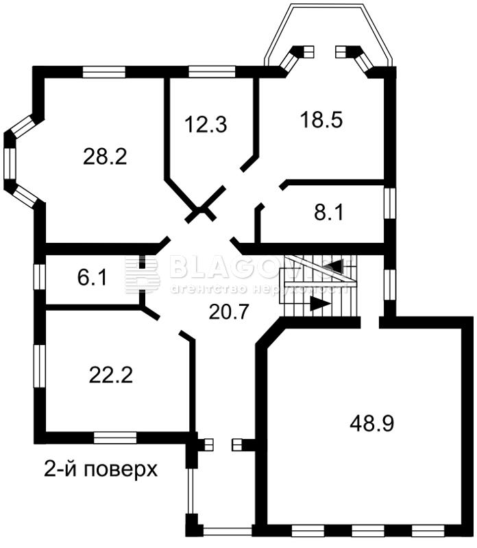 Дом Z-1536225, Дмитровка (Киево-Святошинский) - Фото 7