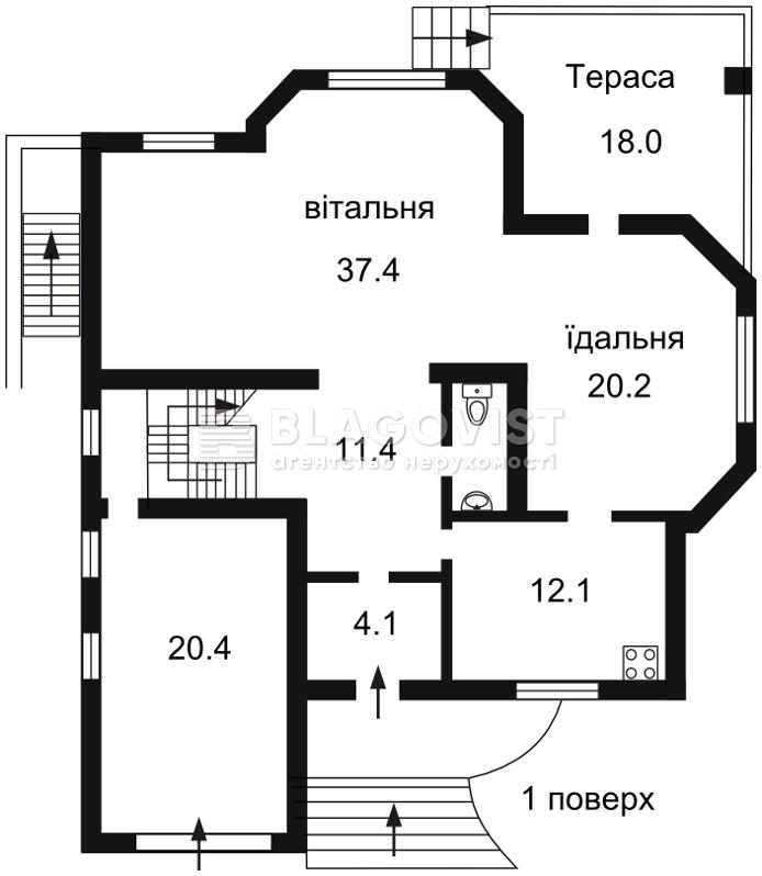Будинок H-32402, Метрологічна, Київ - Фото 3