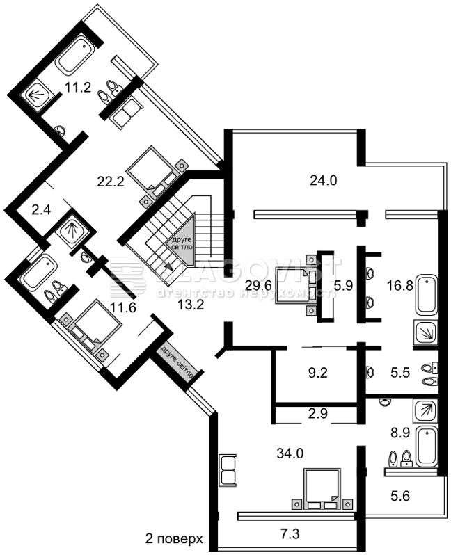 Дом Z-1523631, Черкасская, Петропавловская Борщаговка - Фото 3