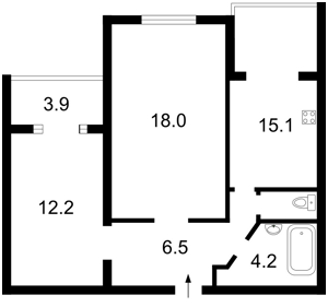 Квартира Героев Сталинграда просп., 20, Киев, Z-1518598 - Фото2