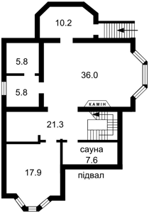 House Mezhyhirska, Novi Petrivtsi, C-99837 - Photo2