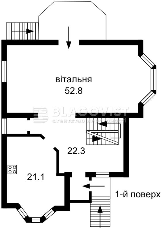 Дом C-99837, Межигорская, Новые Петровцы - Фото 5