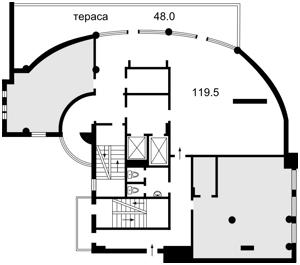 Офис, Шевченко Тараса бульв., Киев, Z-1546785 - Фото2