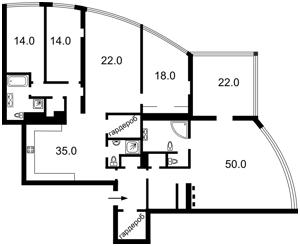 Квартира Панаса Мирного, 28а, Київ, F-33213 - Фото2