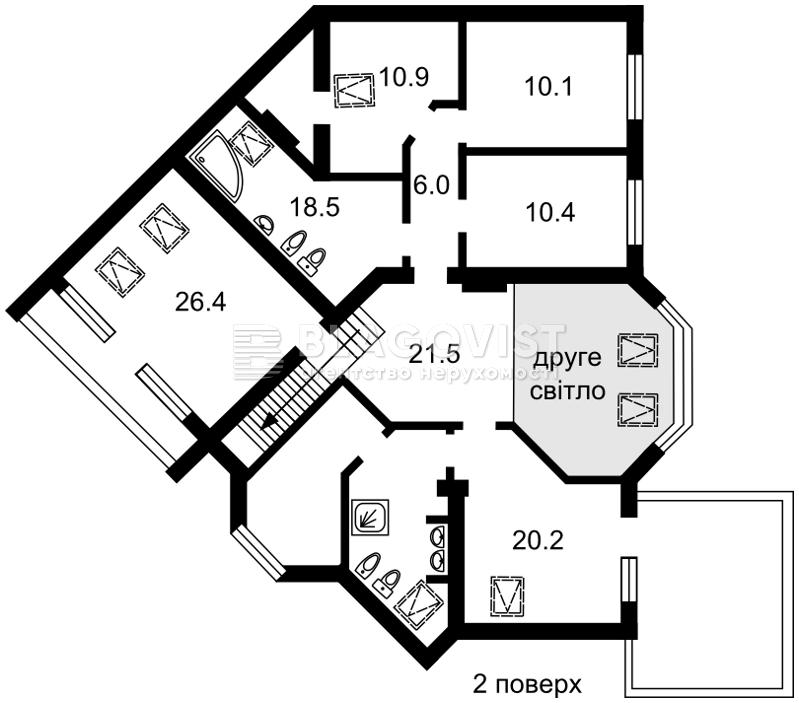 Дом F-33410, Хотяновка - Фото 6