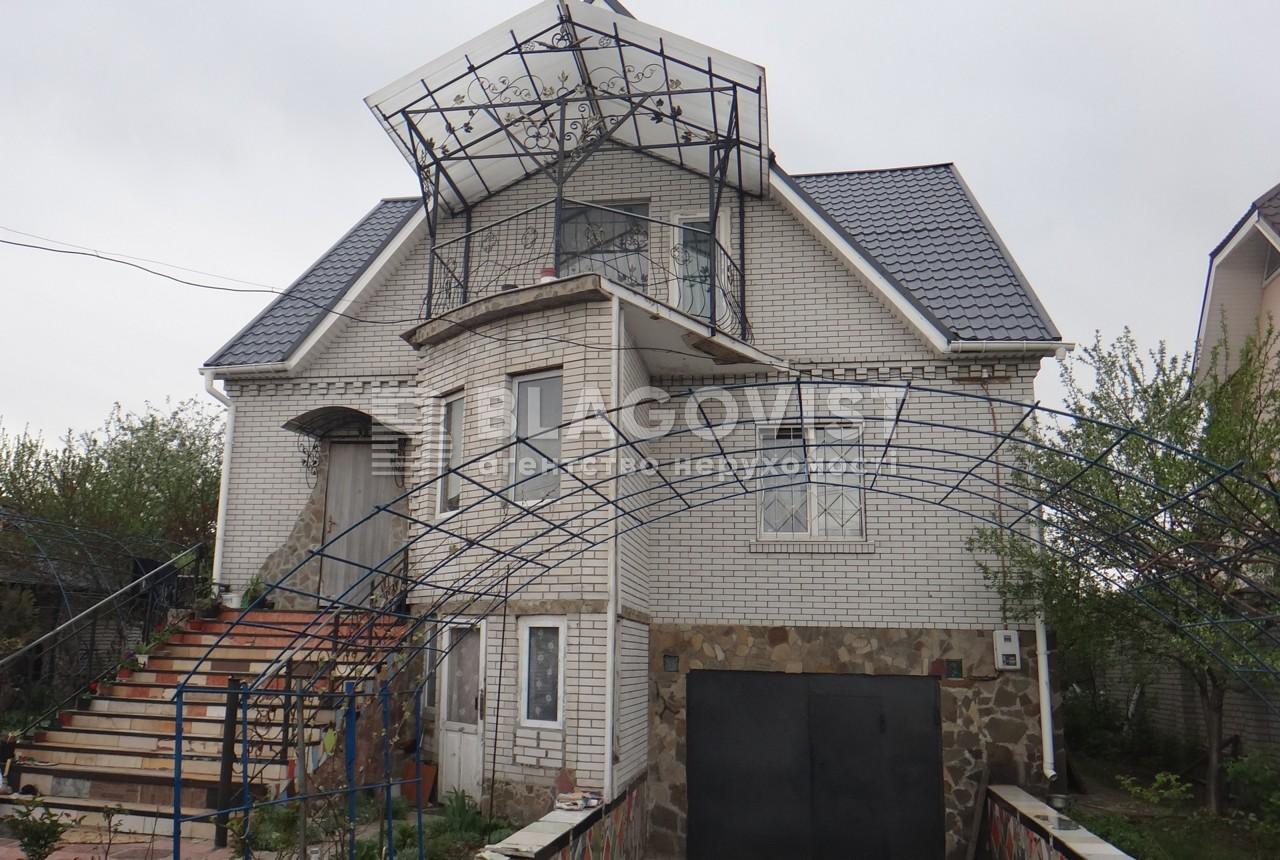 Дом F-33473, Луговая, Софиевская Борщаговка - Фото 1
