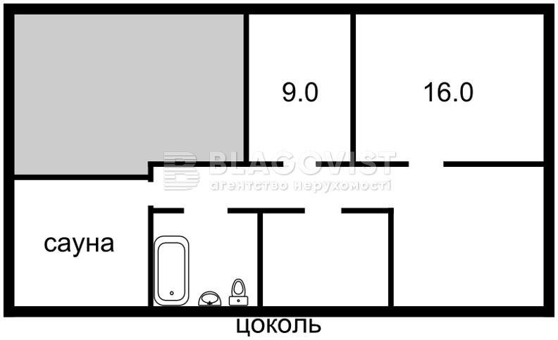 Дом F-33473, Луговая, Софиевская Борщаговка - Фото 3