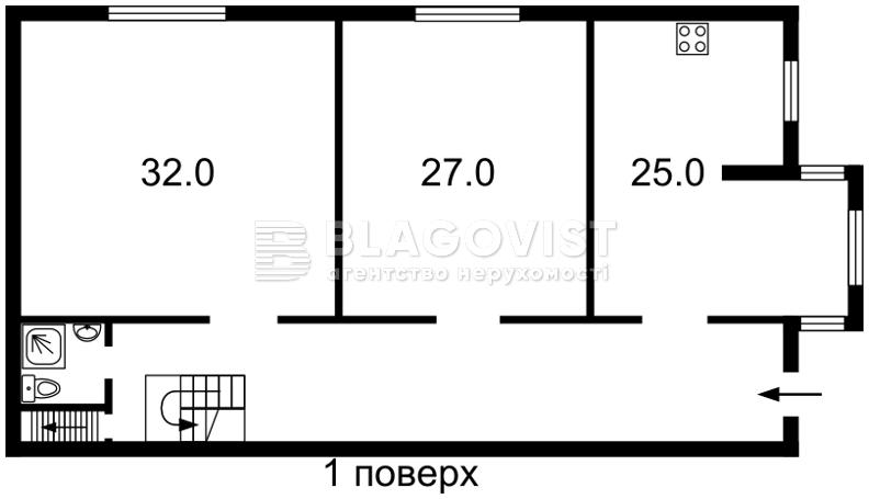 Дом F-33473, Луговая, Софиевская Борщаговка - Фото 4