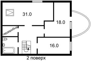 Дом F-33473, Луговая, Софиевская Борщаговка - Фото 5