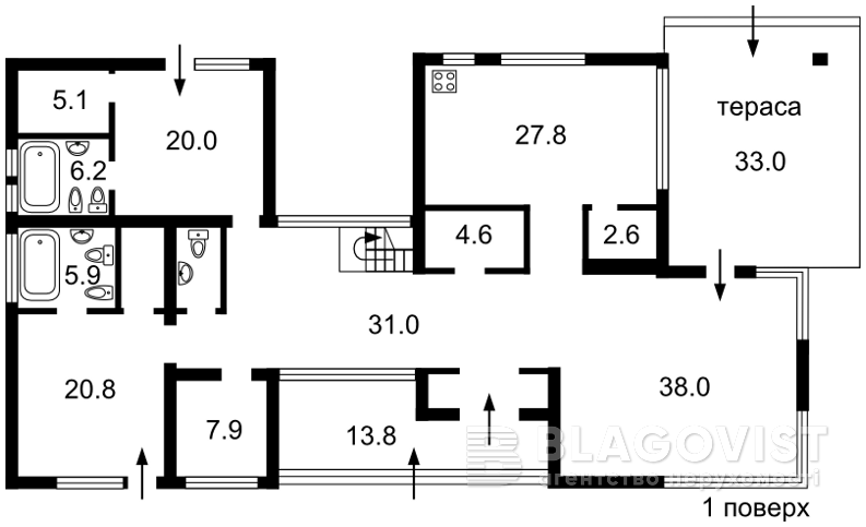 Дом M-26365, Хотяновка - Фото 2