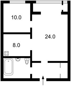 Квартира Саксаганського, 121, Київ, F-19438 - Фото2