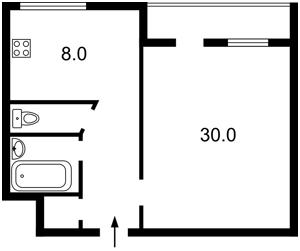 Квартира Сретенская, 4/13, Киев, C-45140 - Фото2