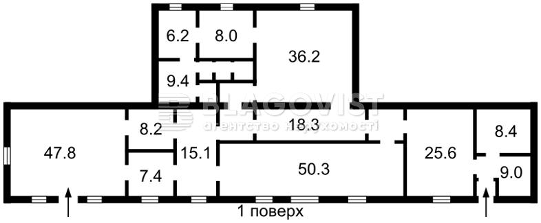 Нежилое помещение, P-15628, Борщаговская, Киев - Фото 3