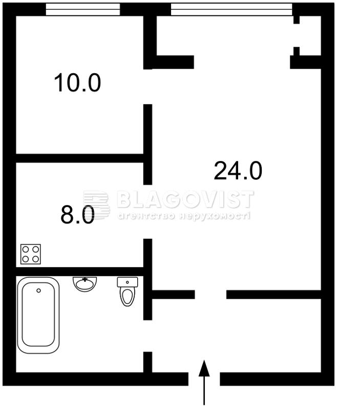 Квартира F-32708, Саксаганского, 121, Киев - Фото 3