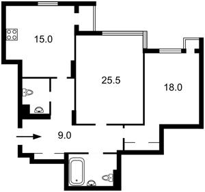 Квартира Лобановского просп. (Краснозвездный просп.), 6а, Киев, X-18142 - Фото2