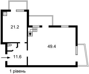Квартира Гончара Олеся, 47б, Киев, D-29324 - Фото 2