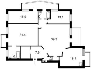 Квартира Гончара Олеся, 47б, Киев, D-29329 - Фото2