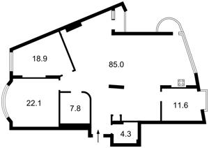 Квартира Старонаводницкая, 6б, Киев, F-31084 - Фото 2