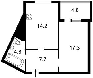 Квартира Леваневского, 9, Киев, X-7961 - Фото2