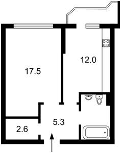 Квартира Сікорського Ігоря (Танкова), 4б, Київ, X-21906 - Фото2
