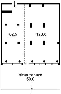 Нежитлове приміщення, Голосіївський проспект (40-річчя Жовтня просп.), Київ, X-12760 - Фото2