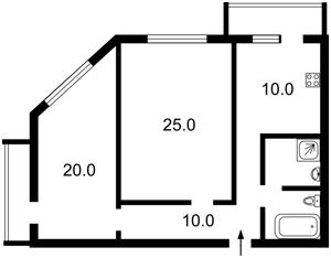 Квартира Дегтяревская, 25а, Киев, X-22279 - Фото2