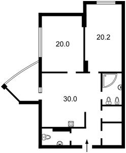 Квартира Глибочицька, 32б, Київ, F-33558 - Фото 2