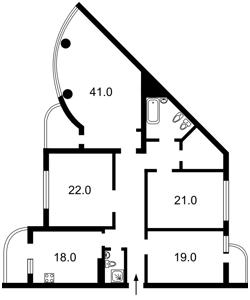 Квартира Голосеевский проспект (40-летия Октября просп.), 30б, Киев, X-22738 - Фото2