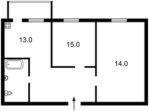 Квартира Митрополита Андрея Шептицкого (Луначарского), 1в, Киев, Z-1596932 - Фото2