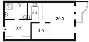 Квартира Жилянська, 118, Київ, X-23452 - Фото2