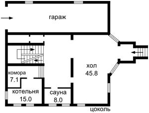 Дом Садовая, Петропавловская Борщаговка, Z-663778 - Фото 2