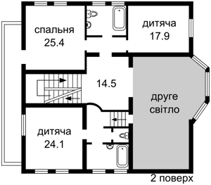 Дом Садовая, Петропавловская Борщаговка, Z-663778 - Фото 4