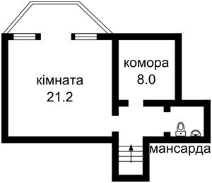 Дом Садовая, Петропавловская Борщаговка, Z-663778 - Фото 5