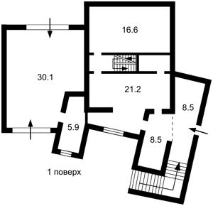 Дом Квитки-Основьяненко, Киев, X-23796 - Фото 1
