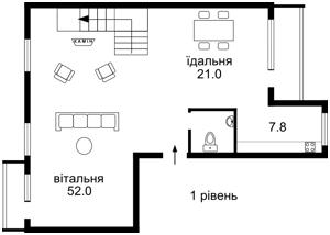 Квартира Франка Івана, 22-24, Київ, F-34176 - Фото 2
