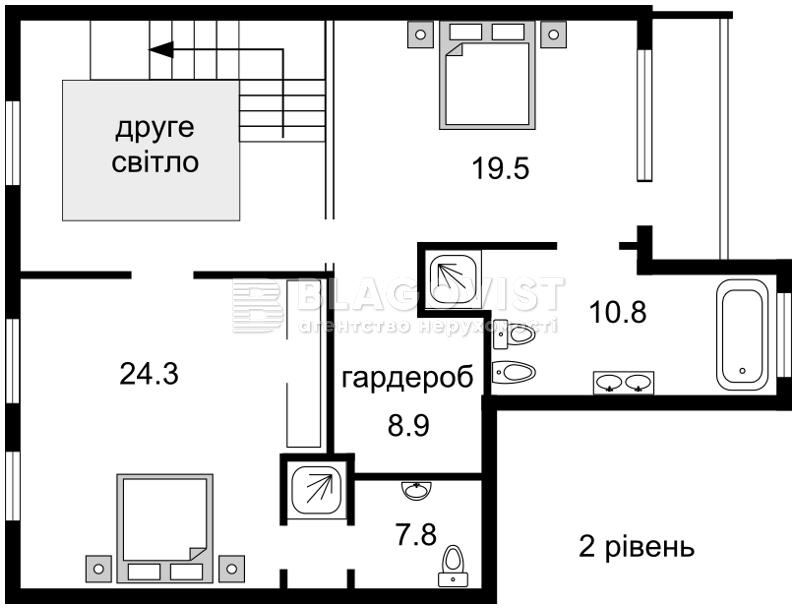 Квартира F-34176, Франко Ивана, 22-24, Киев - Фото 4