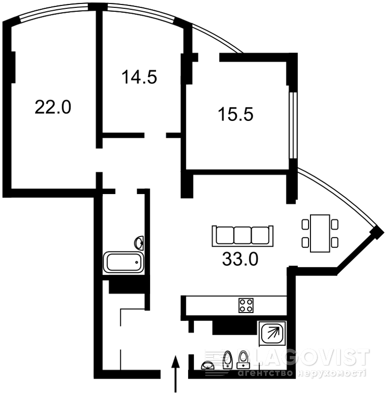 Квартира X-23415, Глубочицкая, 32б, Киев - Фото 8