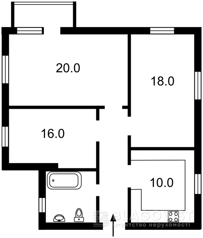 Квартира Z-990477, Костельная, 6, Киев - Фото 4